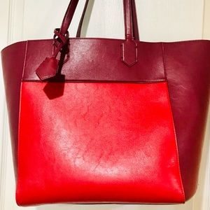 EUC Anthropologie Miss Allbright Large Tote